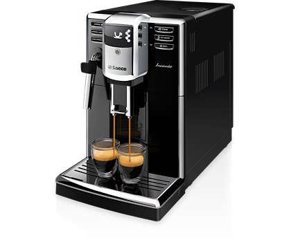 Elegant design. Impressive coffee quality.
