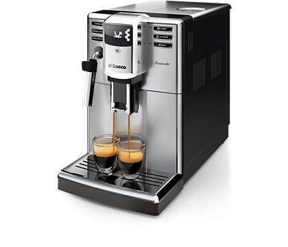 Elegant design. Impressive coffee quality.