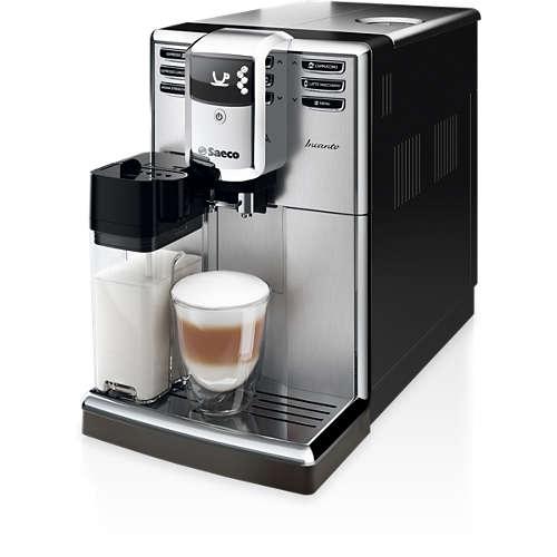 Incanto Automatický espresovač s nádobou na mléko