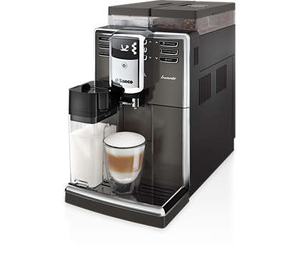 Элегантный дизайн и впечатляющее качество кофе.