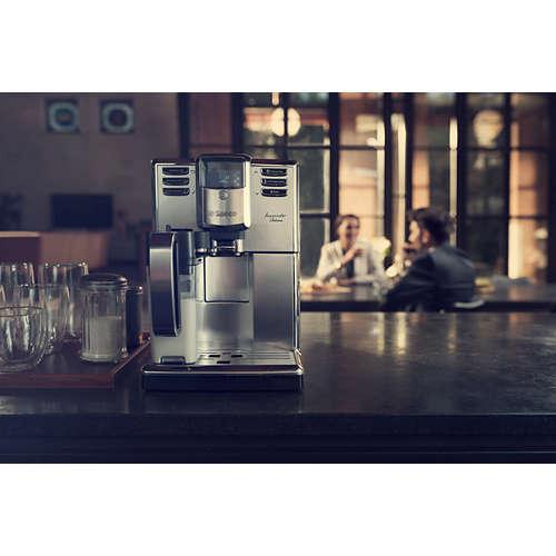 Incanto Deluxe W pełni automatyczny ekspres do kawy