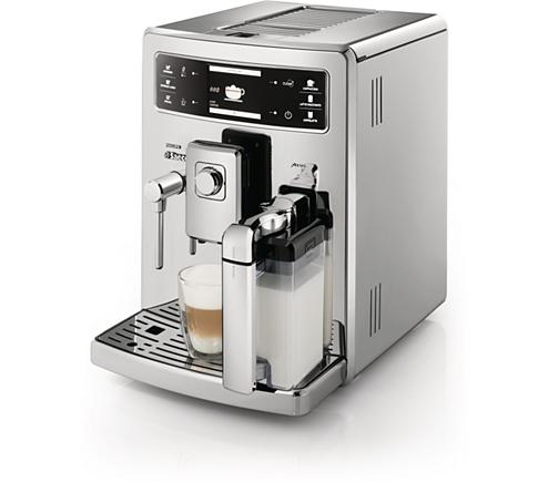 xelsis super automatic espresso machine hd8946 47 saeco. Black Bedroom Furniture Sets. Home Design Ideas