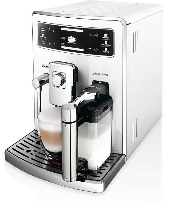 Unterschiedliche Kaffeespezialitäten für mehrere Benutzer