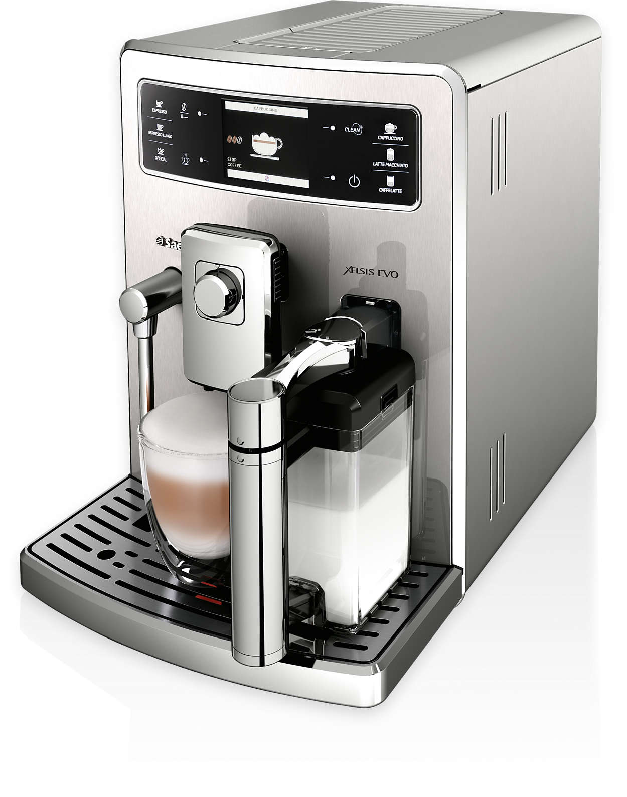 xelsis evo super automatic espresso machine hd8954 47 saeco. Black Bedroom Furniture Sets. Home Design Ideas