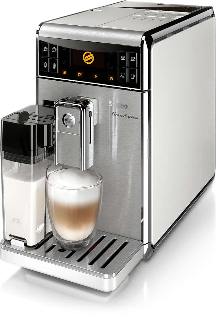 원터치로 18가지 다양한 커피 즐기기