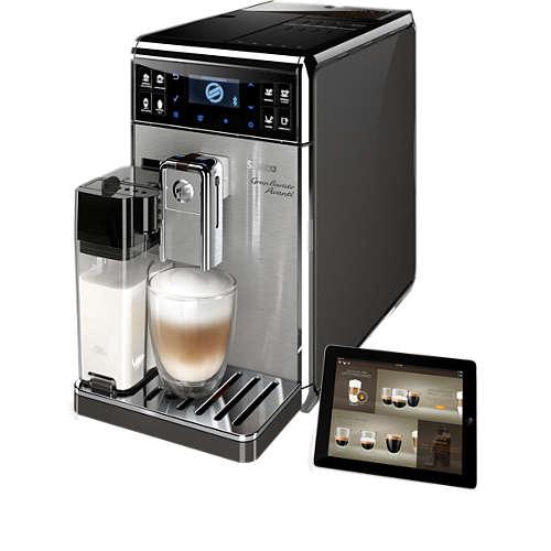 Buy 18 Beverages Super Automatic Espresso Machine Hd8967