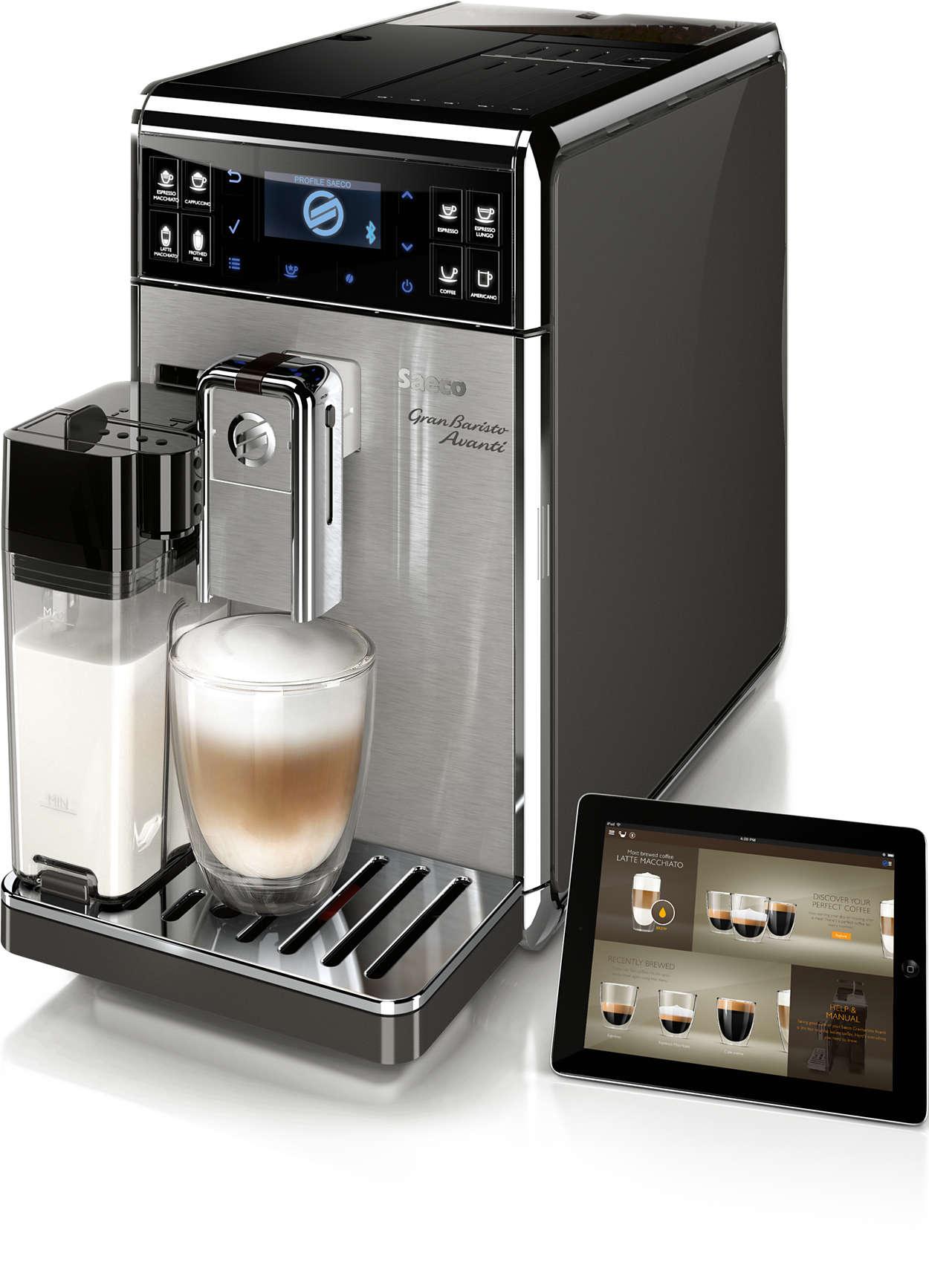 Cea mai avansată experienţă a cafelei de acasă