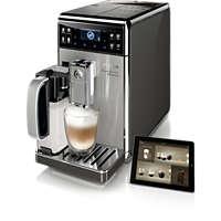 Helautomatisk espressomaskin med 18 drikker