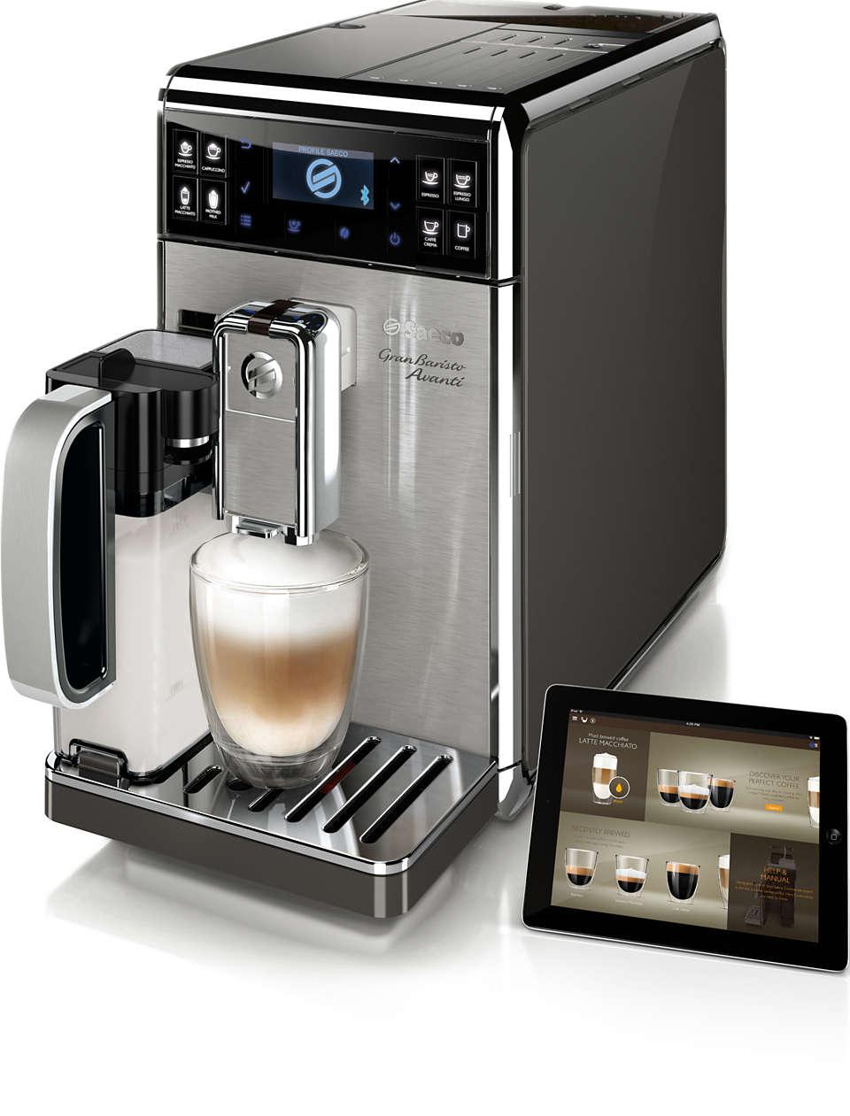 Den mest avancerade kaffeupplevelsen i hemmet