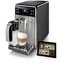 Kaffeevollautomat für 18Kaffeespezialitäten