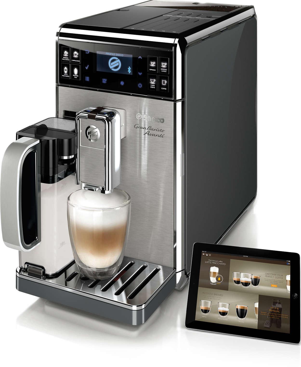 Das fortschrittlichste Kaffeeerlebnis für zu Hause
