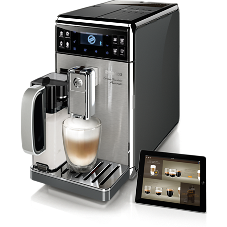 Größte Kaffeevielfalt inklusive App-Steuerung