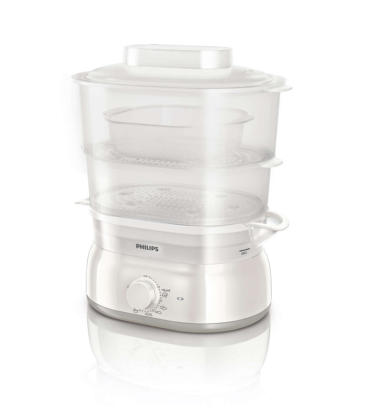 Daily collection cuiseur vapeur hd9115 20 philips - Cuisson vapeur multicuiseur philips ...