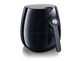 Philips Viva Collection Airfryer HD9220 20 Low fat fryer Multicooker Black 800 g with Rapid Air technology