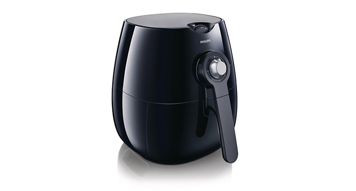Viva Collection Airfryer HD9220/26 Black | Philips