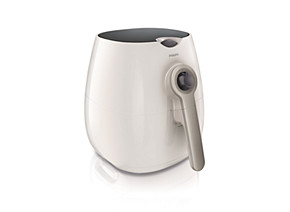 Philips Viva Collection Airfryer HD9220 53 Low fat fryer Multicooker White silver 800 g with Rapid Air technology