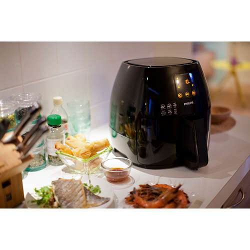 Avance Collection Airfryer XL - Family