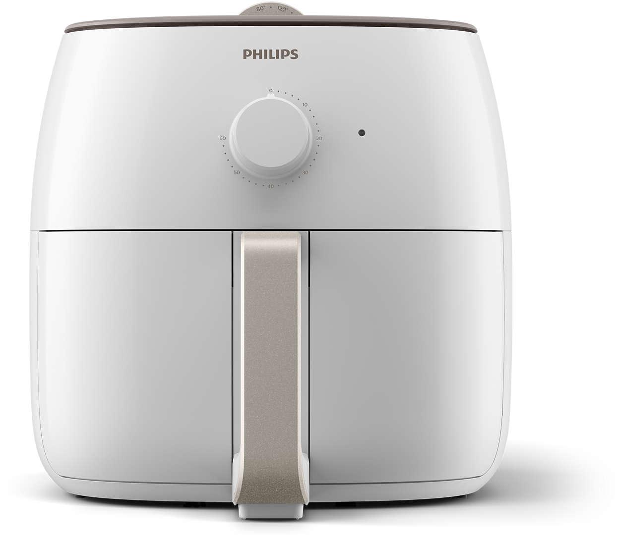 فيليبس قدر قلي اكس اكس ال 1400 غرام، قدرة 2225 واط، أبيض - HD9630/24