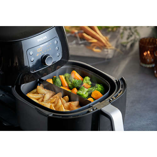 Viva Collection Airfryer XXL with Twin TurboStar Technology