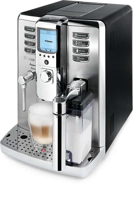 Vychutnejte si profesionální espresso doma
