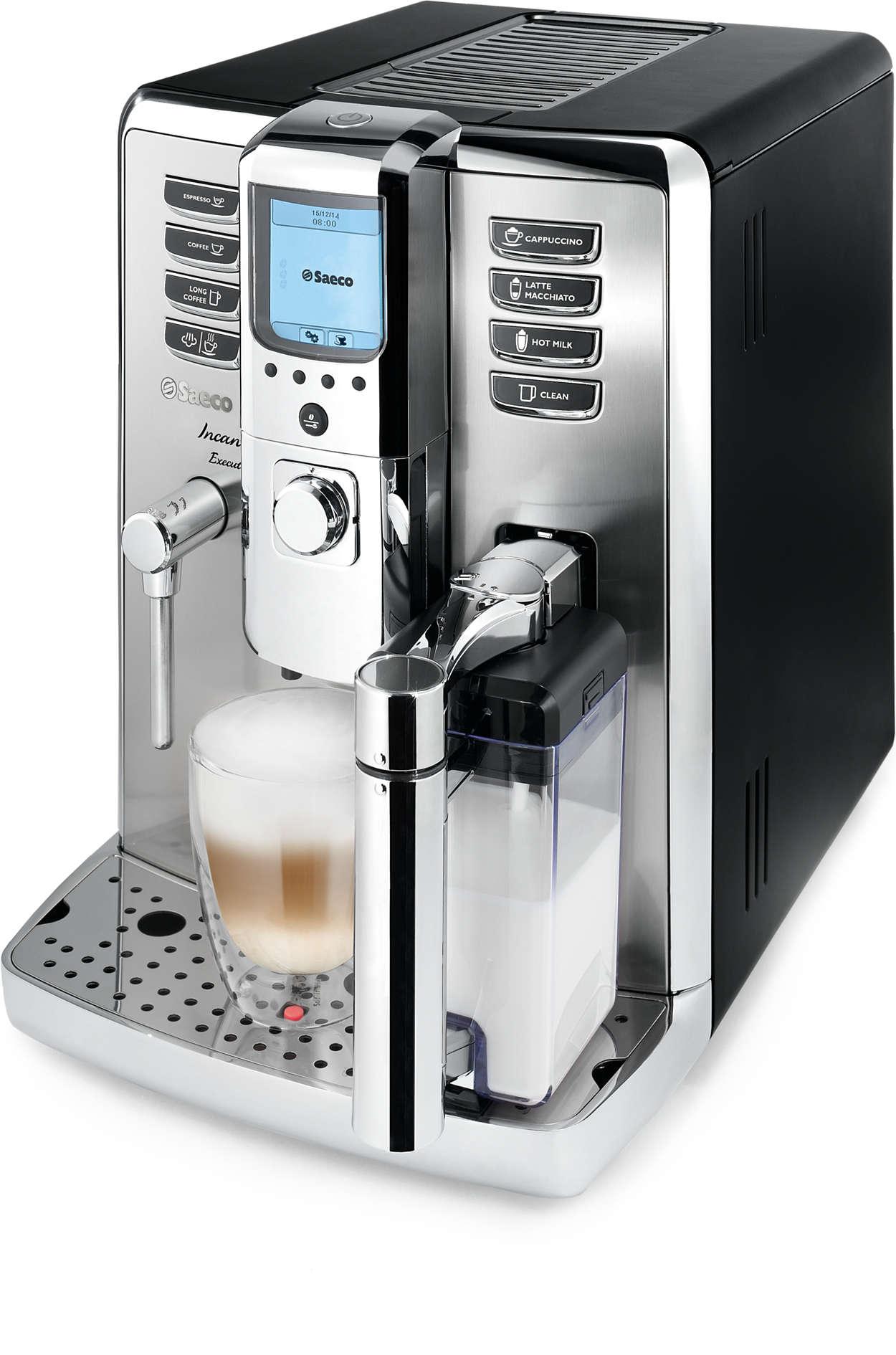 Un espresso de qualité professionnelle à la maison