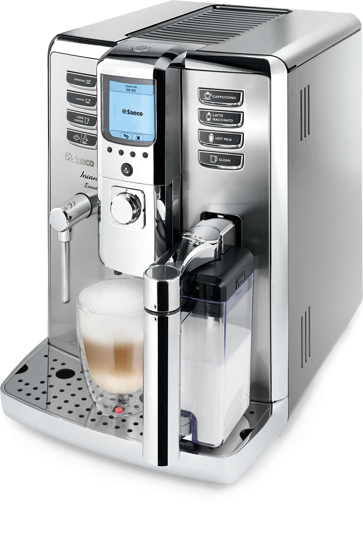 Vychutnajte si profesionálne espresso uvás doma