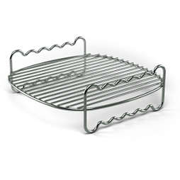 Viva Collection Airfryer Double Layer Rack with Skewers