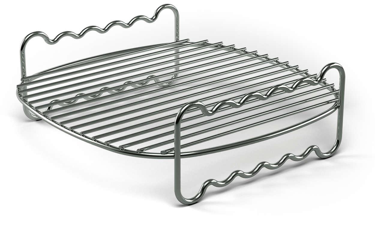 Accroissez la surface de cuisson de votre Airfryer
