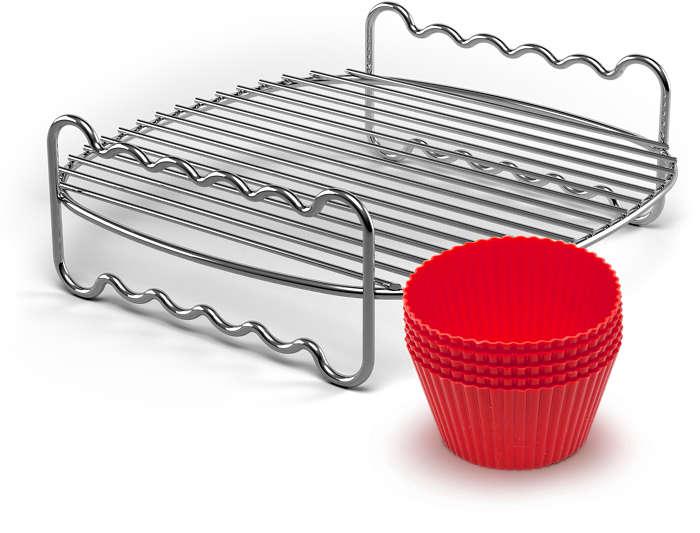 Lag festlig fingermat med smart tilbehør til Airfryer