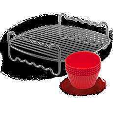 HD9904/01  Grillspett och muffinsformar