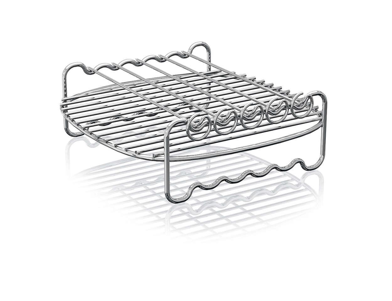 Zwiększ powierzchnię gotowania urządzenia Airfryer