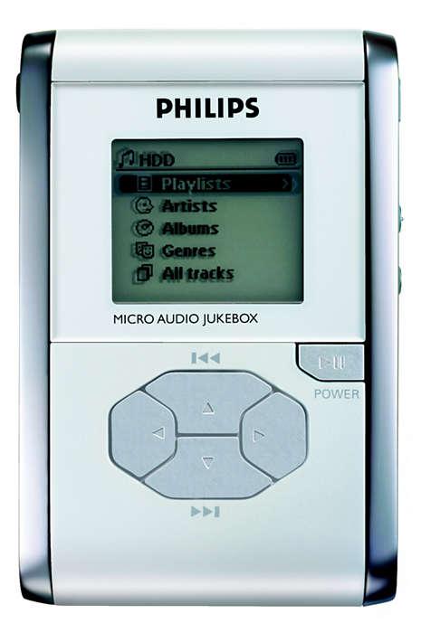 Мой портативный плеер jukebox для прослушивания на ходу