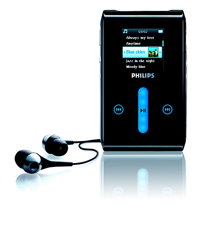 Specifications of the Micro jukebox HDD1620/00 | Philips