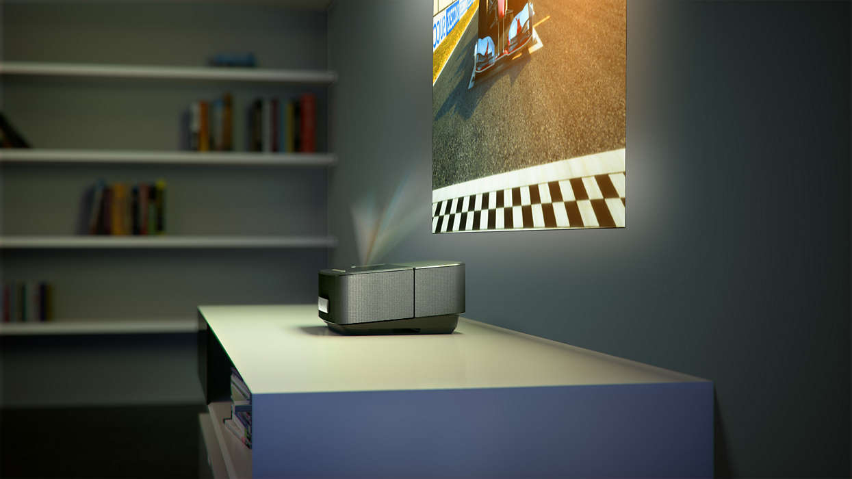 Screeneo screeneo smart led projector hdp1690f7 philips get the big picture amipublicfo Images