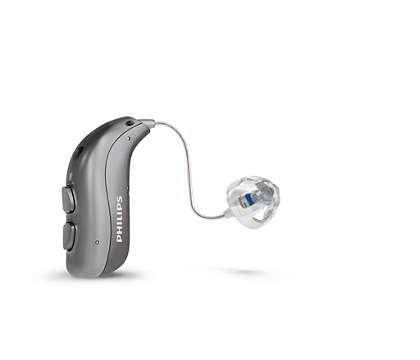 The rechargeable receiver-in-the-ear hearing aid