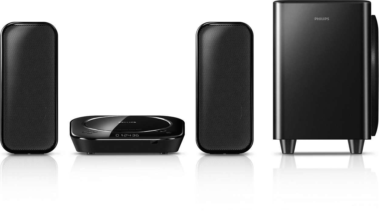 Større lyd for å forstørre HD TV-opplevelsen