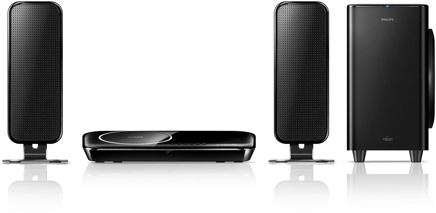 พลังเสียงกระหึ่มเพื่อเพิ่มประสบการณ์การรับชมทีวี HD ของคุณ