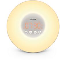 HF3500/01  Wake-up Light - auttaa heräämään miellyttävämmin