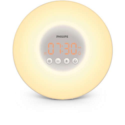 Wake-up Light - auttaa heräämään miellyttävämmin