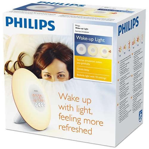 Wake-up Light (Exclusief bij Carrefour)