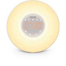 HF3505/01  Wake-Up Light - gør det mere behageligt at vågne