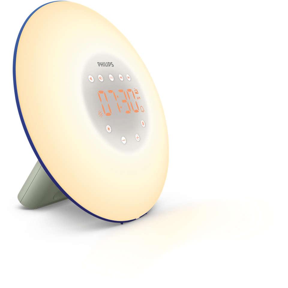 Despiértate con luz, siéntete más activo