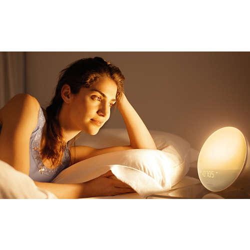 Wake-up Light - hjälper dig vakna mer behagligt