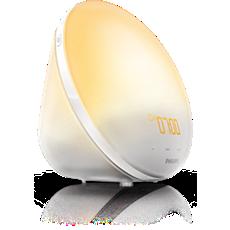 HF3510/01  Wake-up Light - auttaa heräämään miellyttävämmin