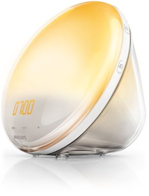 Buy Wake-up Light med simulering af solopgang i farverHF3520/01 online | Philips Shop