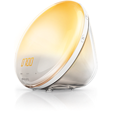 HF3532/01 SmartSleep Wake-up Light - gør det mere behageligt at vågne