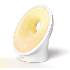 HF3650/60 SmartSleep Veilleuse et lampe-réveil