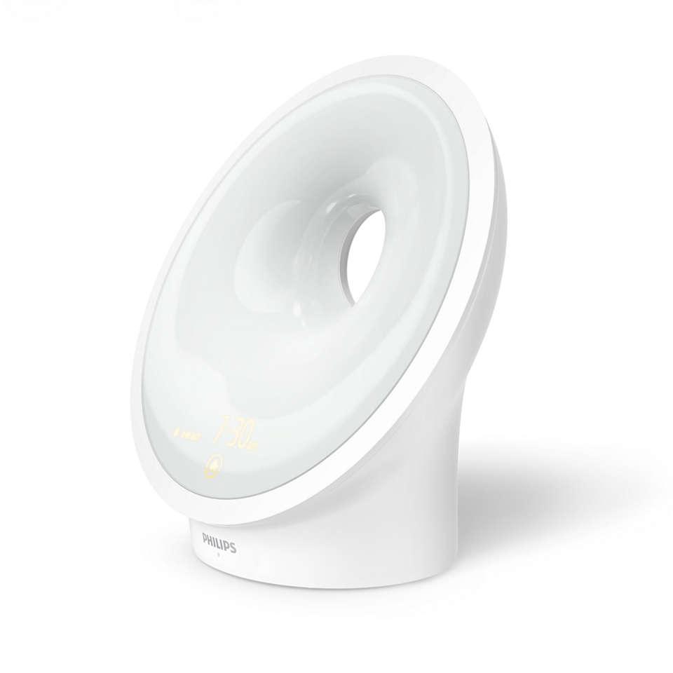 El Wake-up Light que te ayuda a dormir