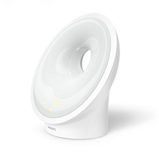 HF3653/01 Somneo Wake-Up Light - nu med guide til at falde i søvn