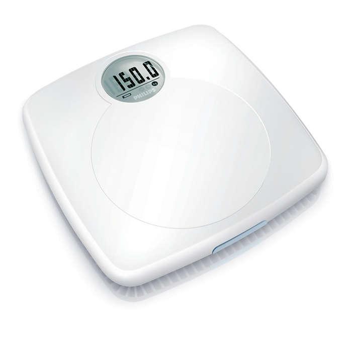 Dokładny odczyt wagi ciała